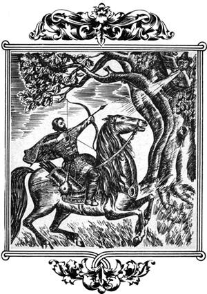 А Илья, минуточки не мешкая, натянул тугой лук, спустил каленую стрелу