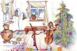 Скрипка танцевала со Смычком вальс за вальсом