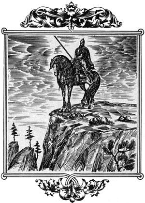 Так и ездит Святогор один по Святым горам