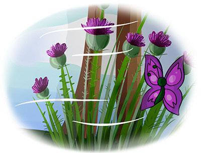 Бабочка Виолетта