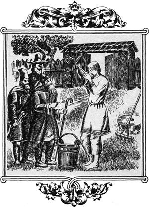 Выпил Илья и почуял в себе силу богатырскую