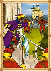 Князь Гвидон тогда вскочил, Громогласно возопил